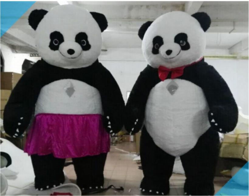 色々なイベントで大活躍します。目立つ3mのパンダです!_画像1