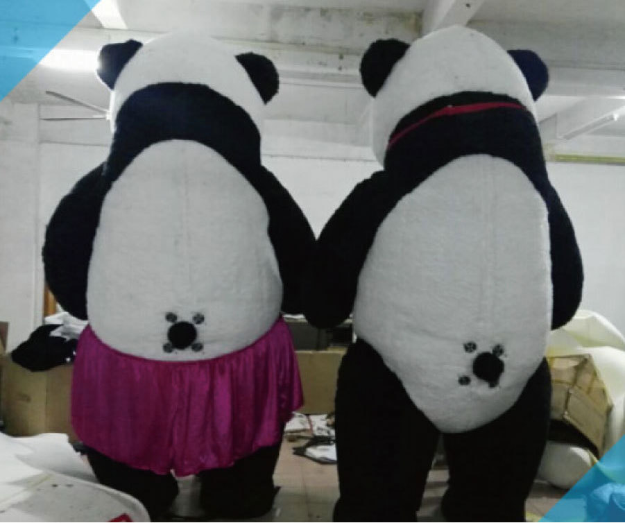 色々なイベントで大活躍します。目立つ3mのパンダです!_画像3