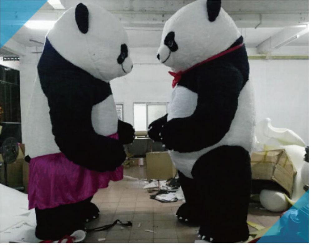 色々なイベントで大活躍します。目立つ3mのパンダです!_画像2