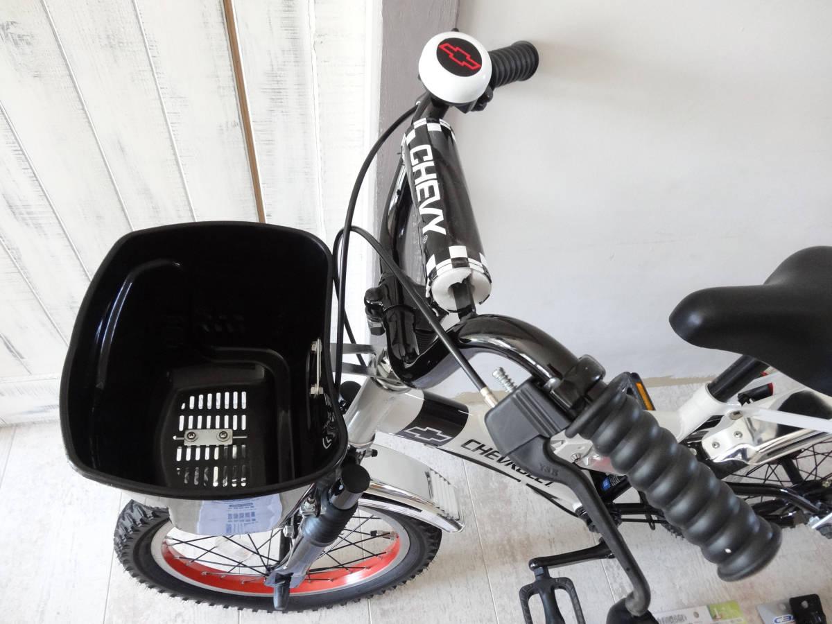 山梨県 引き取り限定 USED【CHEVROLET】16インチ シボレー チビシェビー レーシング 子供用 かっこいい 自転車 男の子 3~6歳_画像2