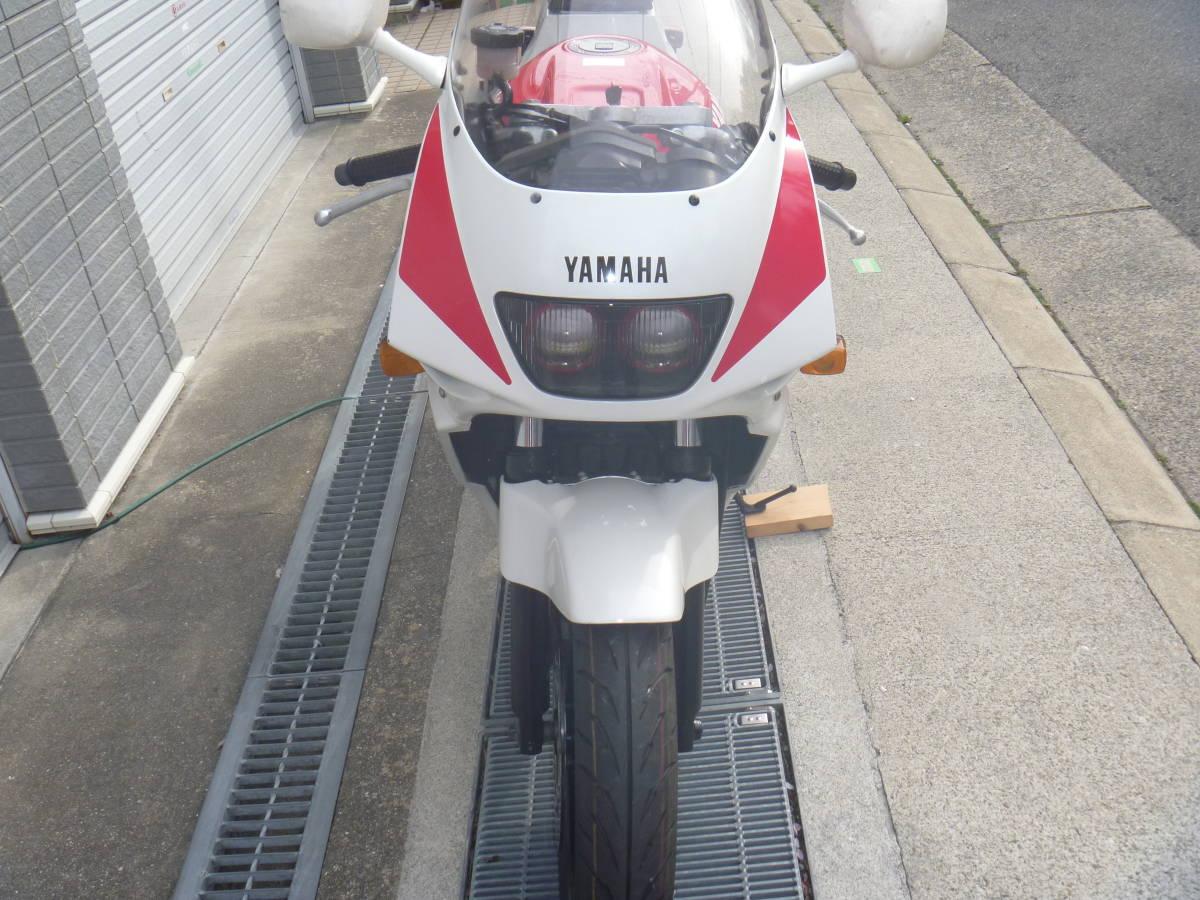 売切 ヤマハ FZR250R 3LN-3 規制前45馬力 ストロボカラー メンテ済 新品パーツ交換済_画像5