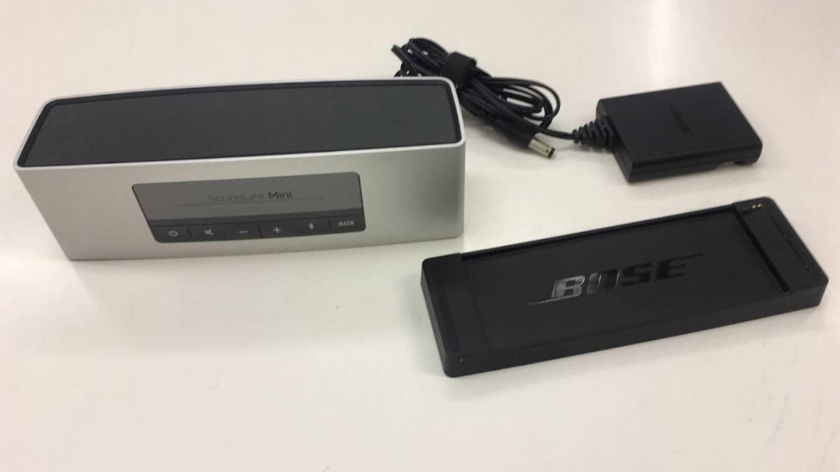 中古 Bose SoundLink Mini Bluetooth speaker II シルバー UM63A4