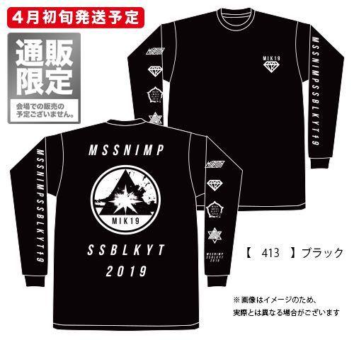 京都大作戦2019 MIK19ロングTシャツ ブラック Mサイズ 新品未開封 グッズ ロングスリーブ 10-FEET ロンT 黒_画像1