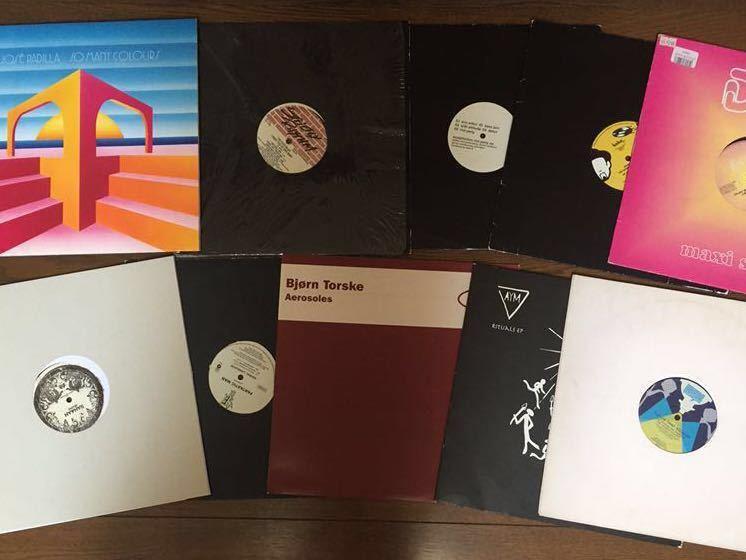 disco dub.re edit.house.バレアリックlp.vaなどまとめて40枚