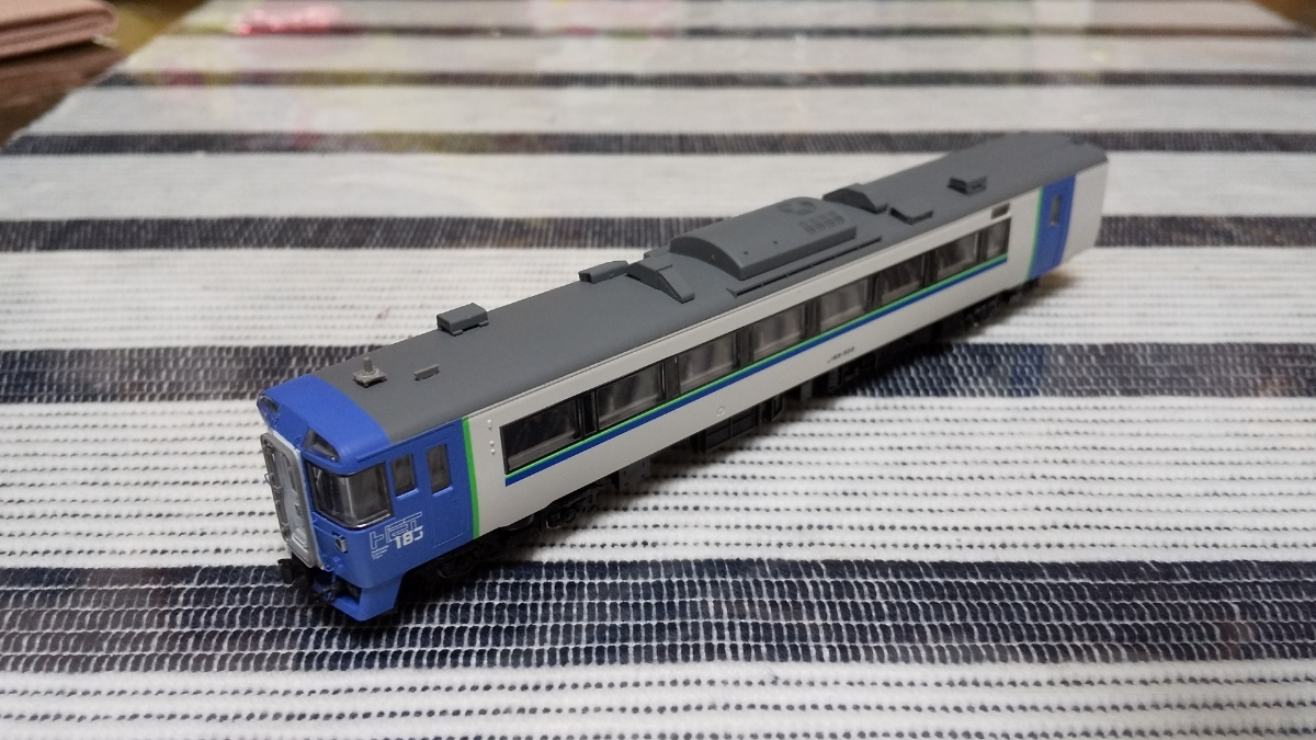 キハ183-504 苗穂ブルー TOMIX キハ183 改造