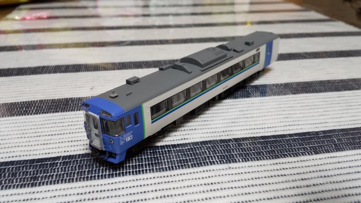 キハ183-504 苗穂ブルー TOMIX キハ183 改造_画像2