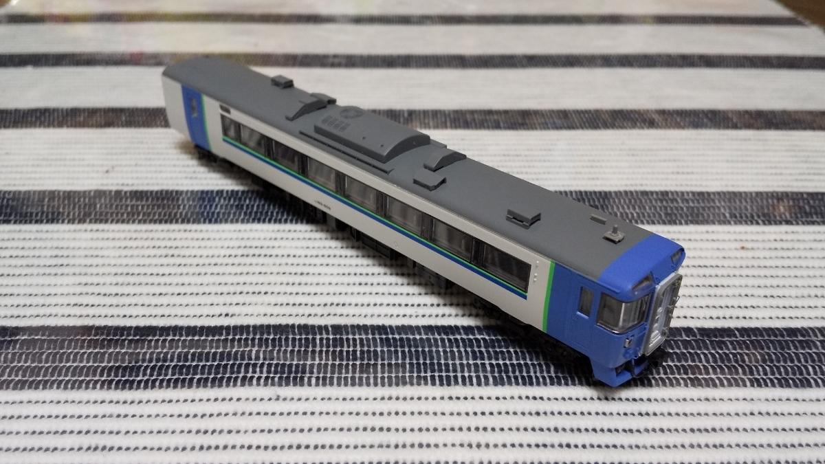 キハ183-504 苗穂ブルー TOMIX キハ183 改造_画像3