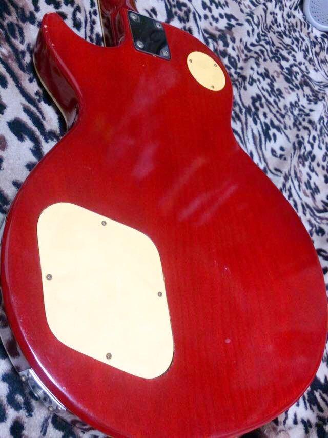 レスポールタイプのエレキギター_画像6