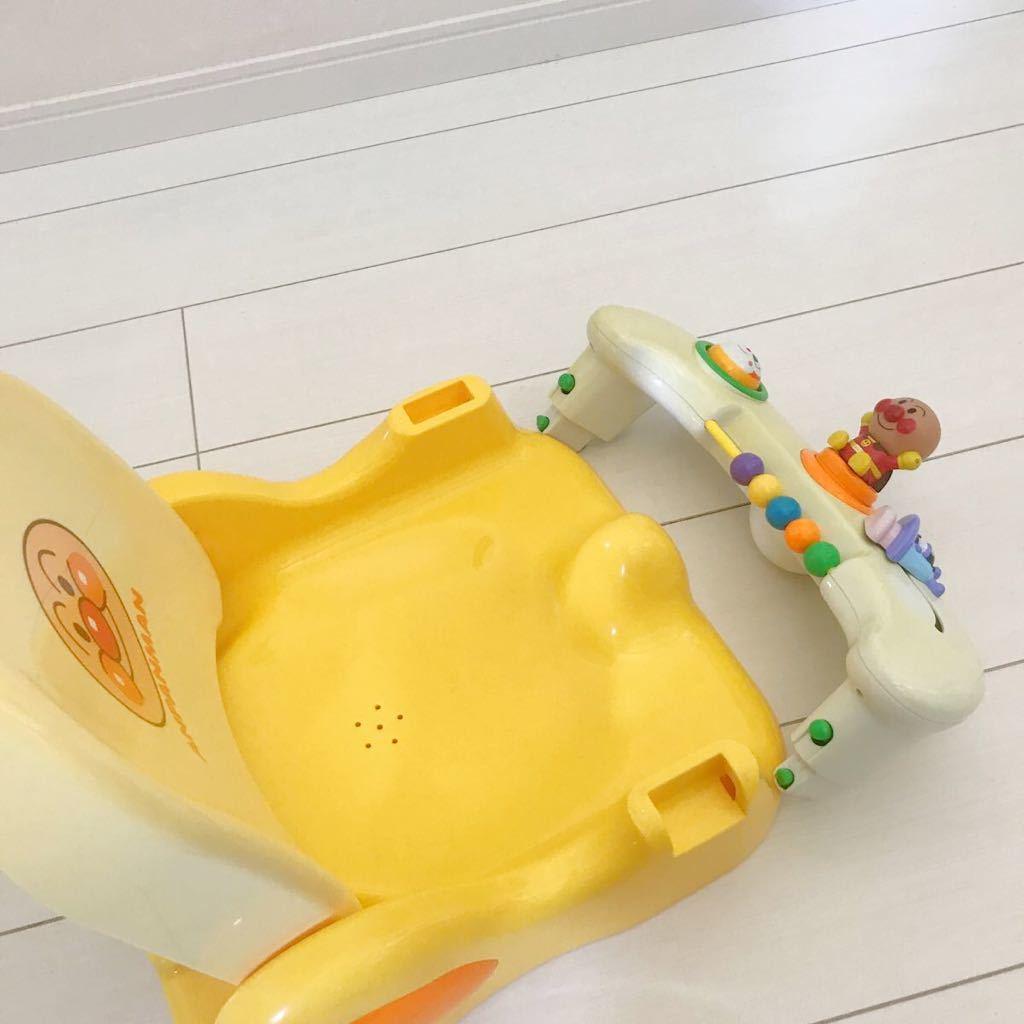 ベビー用品 アンパンマン コンパクト お風呂チェアー バスチェア キッズ グッズ お風呂 入浴 出産準備_画像10