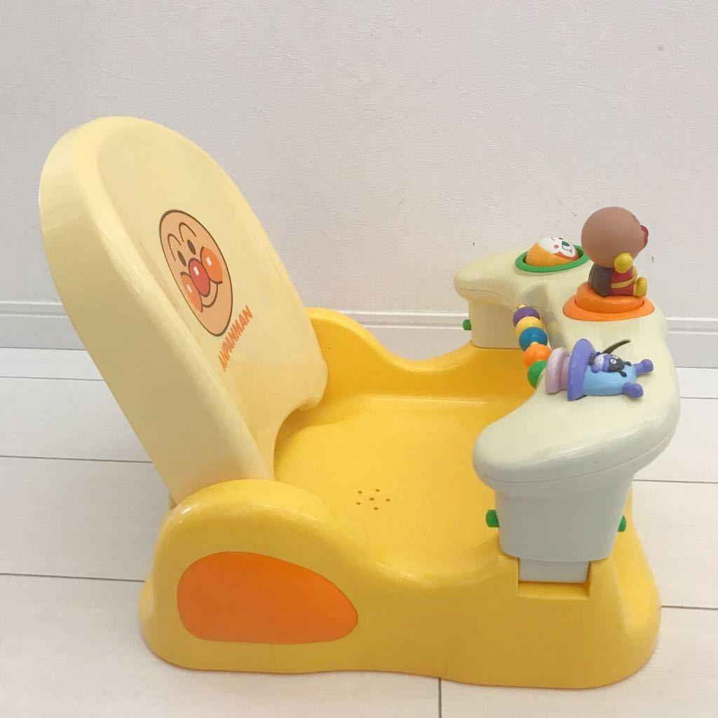 ベビー用品 アンパンマン コンパクト お風呂チェアー バスチェア キッズ グッズ お風呂 入浴 出産準備_画像4