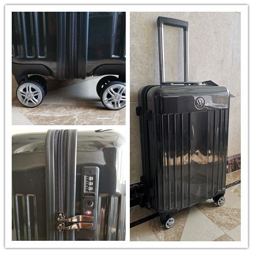 最高級※定価7万※volkswagen 軽量/静音・TSAロック搭載スーツケース・キャリーケース※46L_画像10