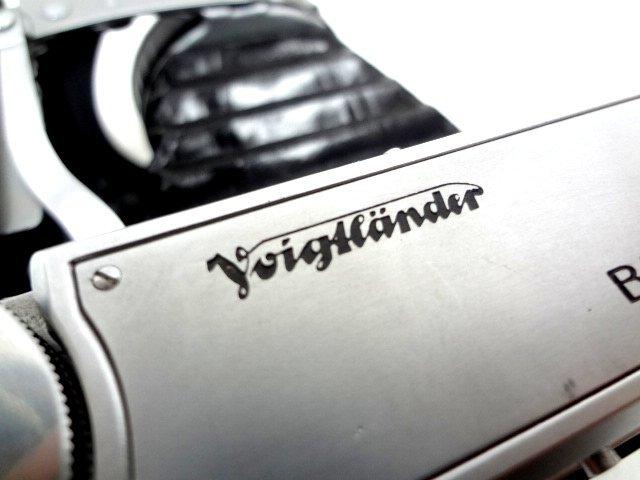 アンティークカメラ ■ Voigtlander フォクトレンダー 蛇腹式 中判カメラ COLOR-HELIAR 105mm/F3.5 BESSA Ⅱ ■_画像2