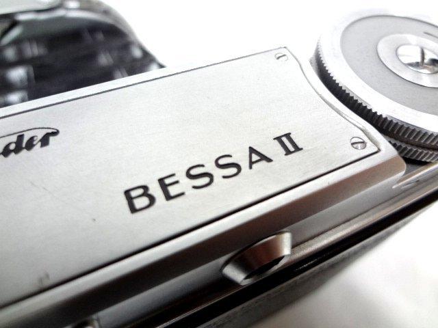 アンティークカメラ ■ Voigtlander フォクトレンダー 蛇腹式 中判カメラ COLOR-HELIAR 105mm/F3.5 BESSA Ⅱ ■_画像3