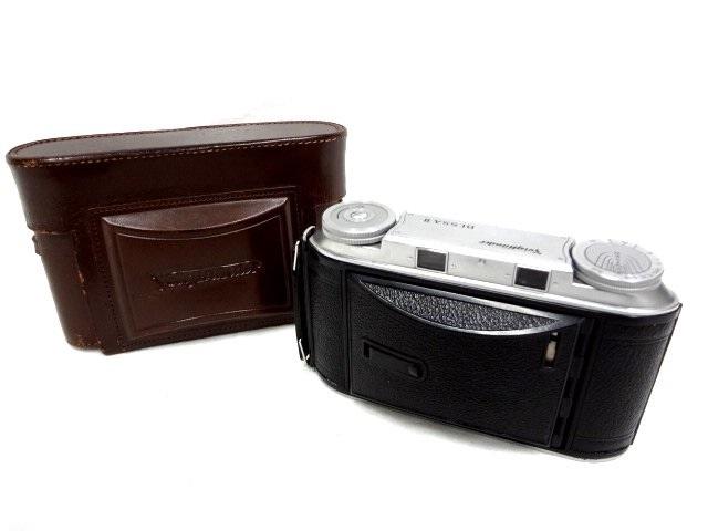 アンティークカメラ ■ Voigtlander フォクトレンダー 蛇腹式 中判カメラ COLOR-HELIAR 105mm/F3.5 BESSA Ⅱ ■_画像5