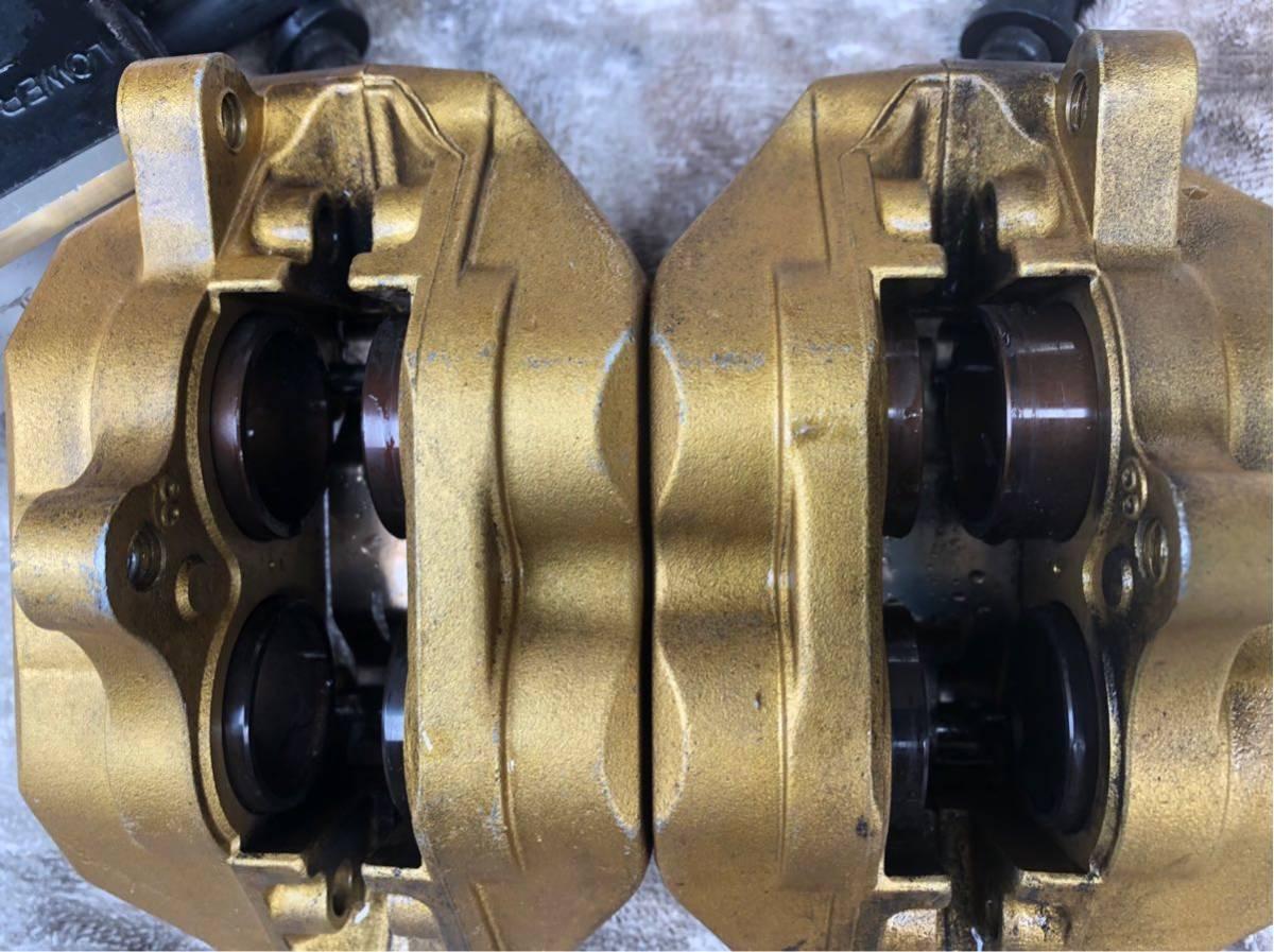 CB400SF VTEC 純正キャリパー NC42 NC39 流用にもアルミピストン RVF400 VTR1000F NSR250 マスター付き ハイパーブィテック CB1300SF SC54_画像2