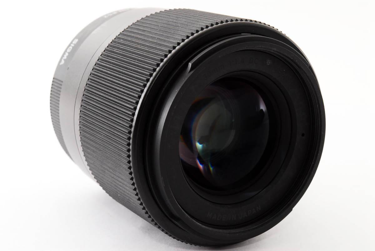 ★実用品!★ Sigma シグマ 30mm F1.4 DC DN マイクロフォーサーズ  429510_画像4