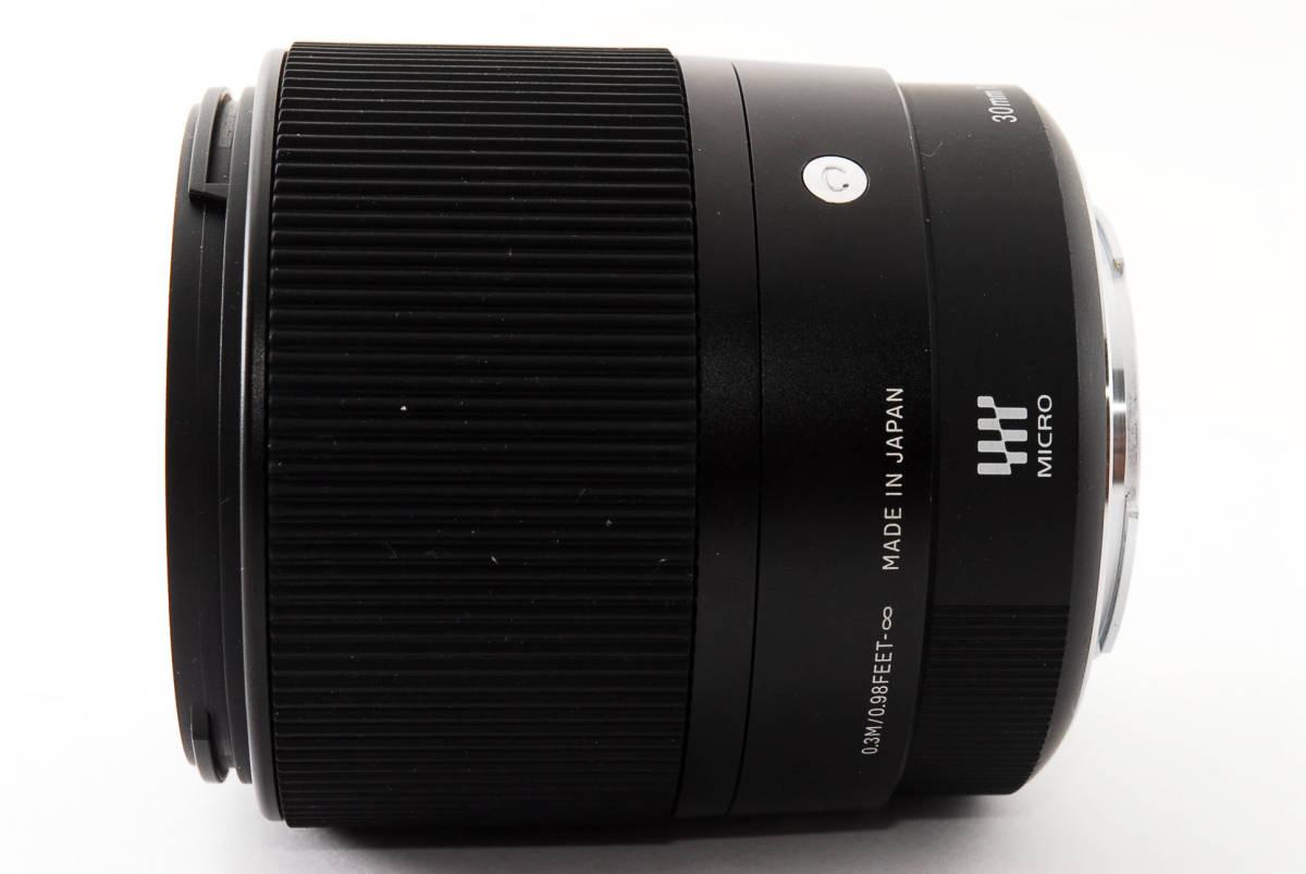 ★実用品!★ Sigma シグマ 30mm F1.4 DC DN マイクロフォーサーズ  429510_画像8
