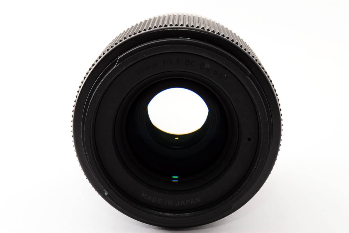 ★実用品!★ Sigma シグマ 30mm F1.4 DC DN マイクロフォーサーズ  429510_画像3