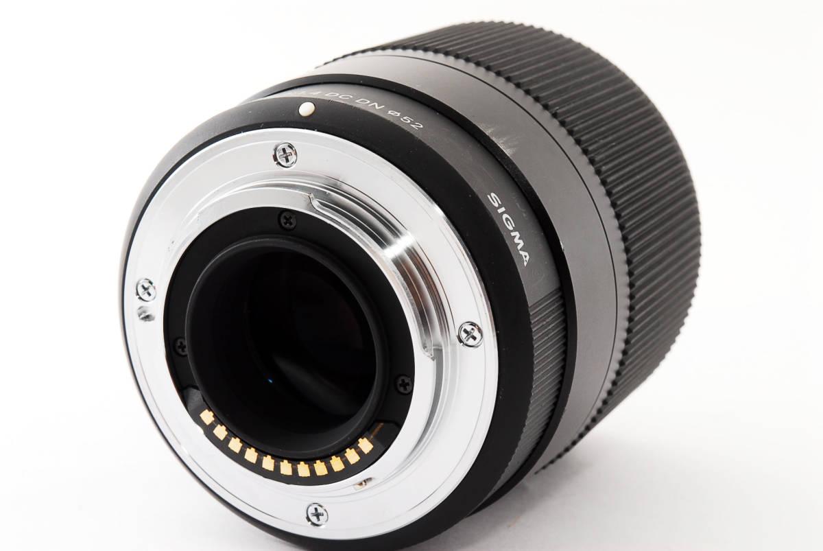 ★実用品!★ Sigma シグマ 30mm F1.4 DC DN マイクロフォーサーズ  429510_画像5