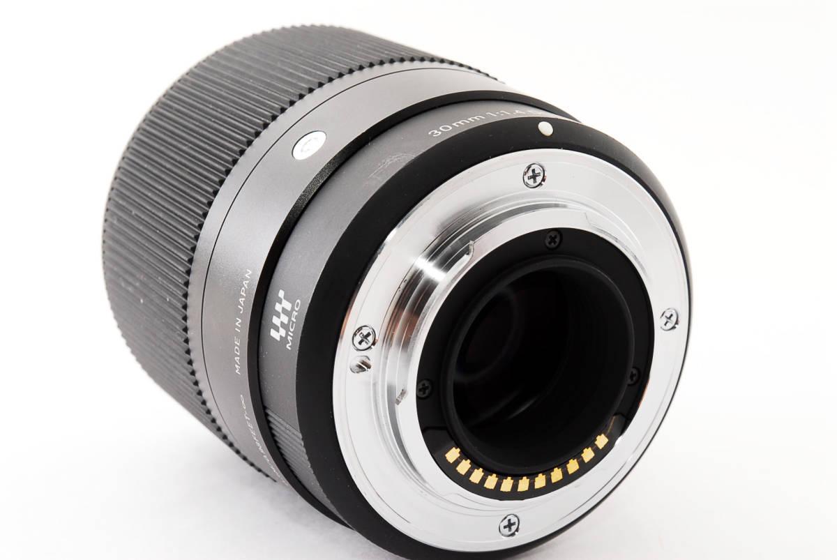 ★実用品!★ Sigma シグマ 30mm F1.4 DC DN マイクロフォーサーズ  429510_画像7