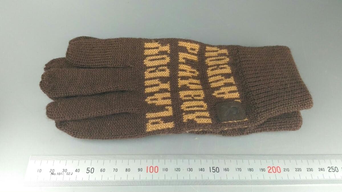 PLAYBOY プレイボーイ 手袋 ファッション小物 防寒 寒さ対策 売り切り 在庫処分 お得□66_画像3