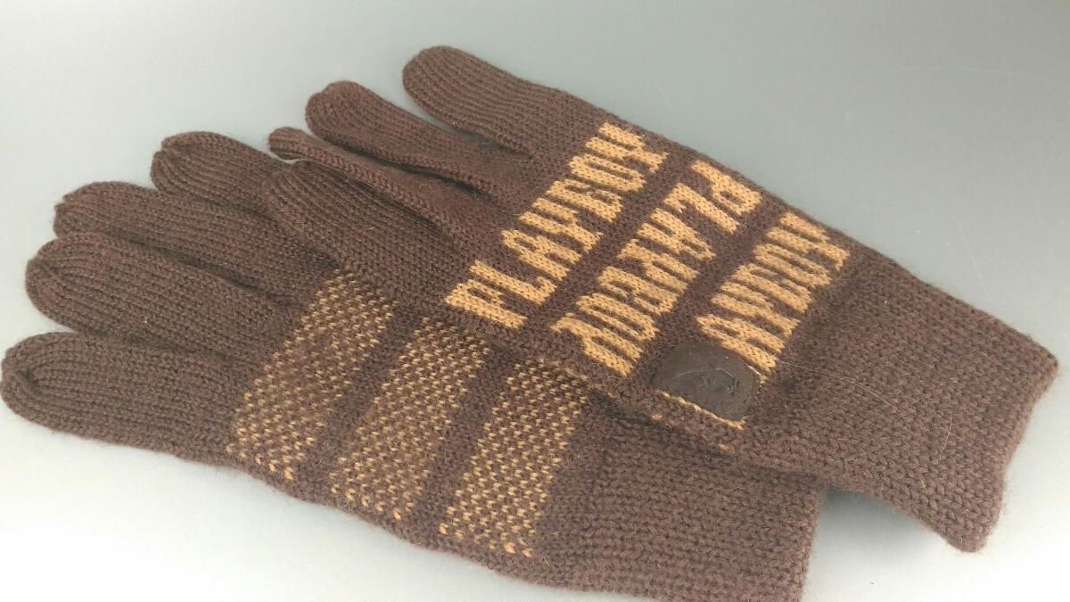 PLAYBOY プレイボーイ 手袋 ファッション小物 防寒 寒さ対策 売り切り 在庫処分 お得□66_画像1