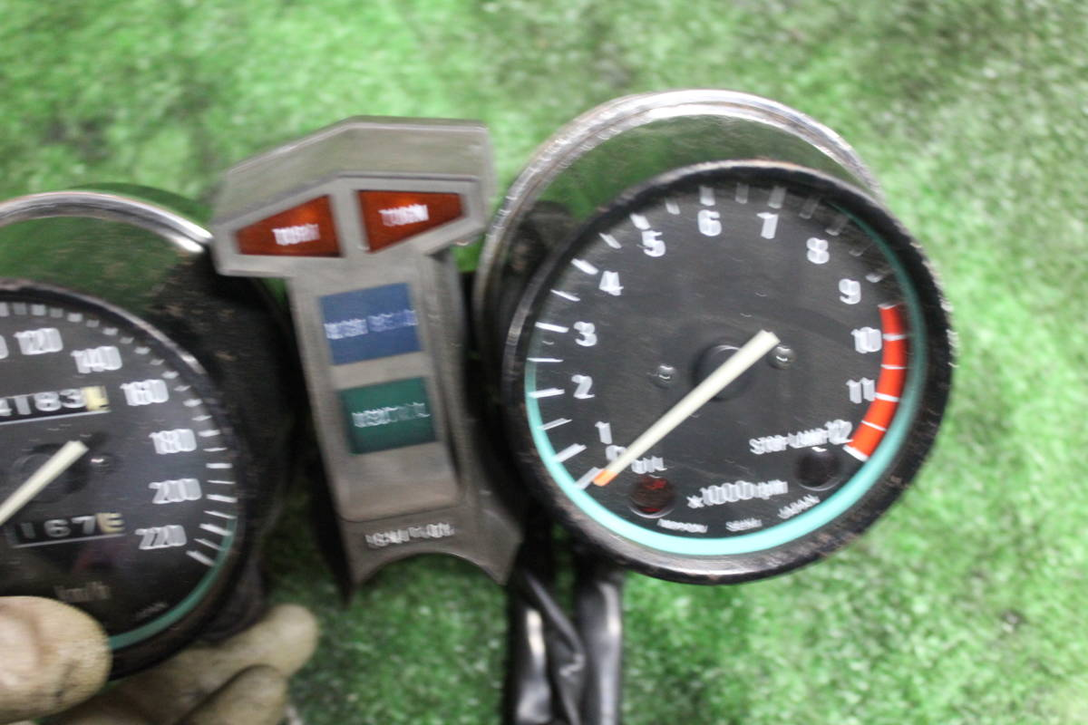 Z550FX ばら売り 極上メーター Z400FX GS400 CBX400F KH400 GT380 CBR400F Z750RS CB400FOUR ゼファー400 Z750FX Z1 Z2 RZ250_画像4