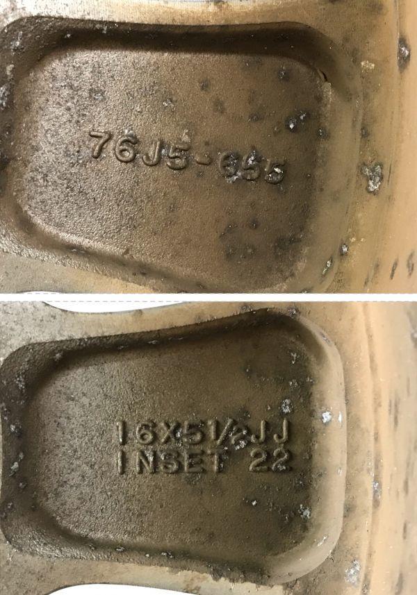 ジムニ- JB23W 純正アルミホイール 175/80R16 (G6-48)_画像9