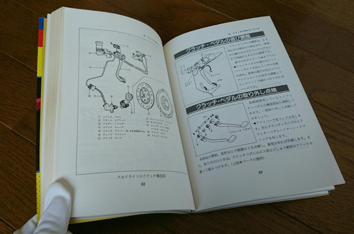 【スカイライン】症状でわかる愛車の不調と故障(R30の本)_画像9