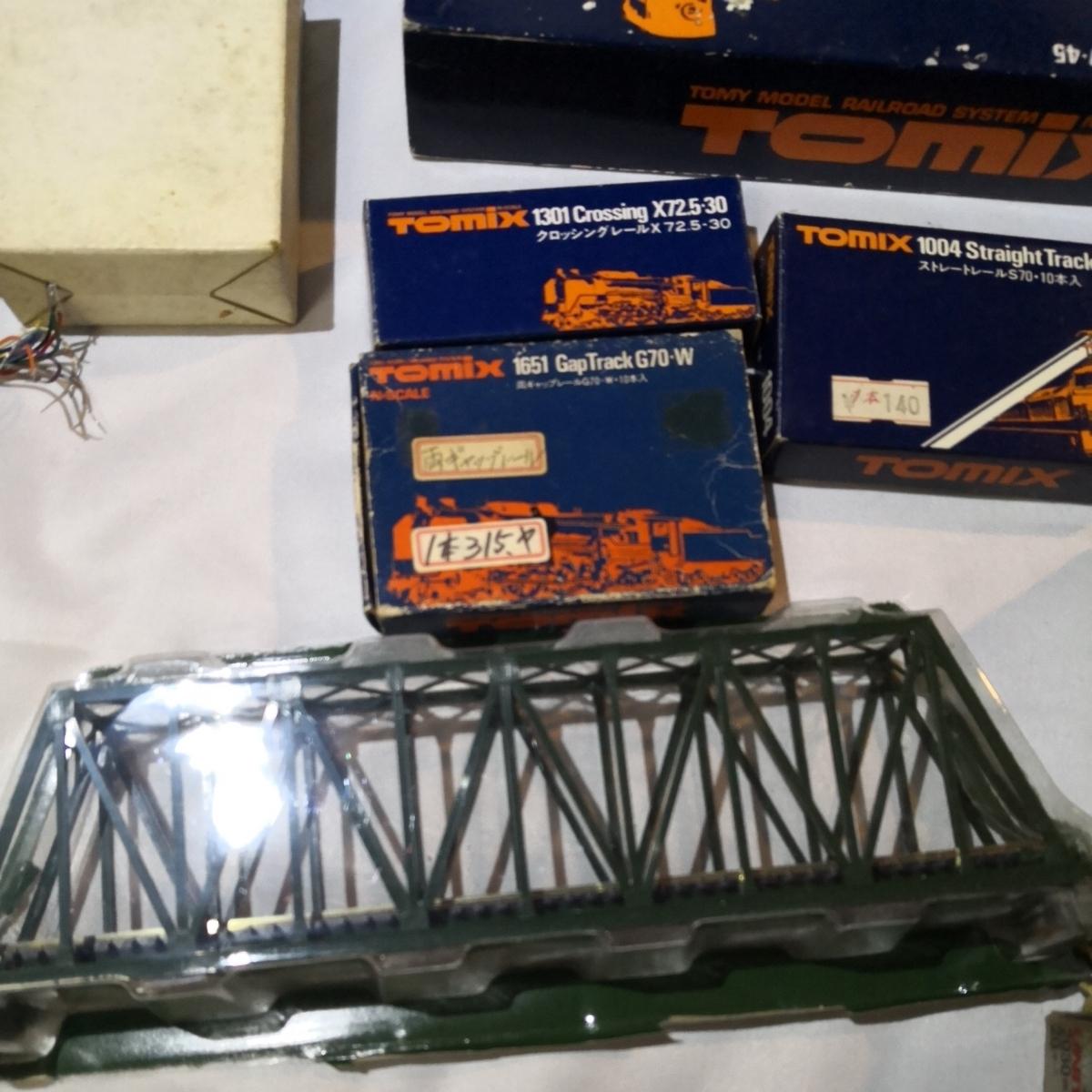 Nゲージ 鉄道模型用 レール ポイント切り替え部品 陸橋 など ジオラマ用部品 大量一括 TOMIX KATO _画像3
