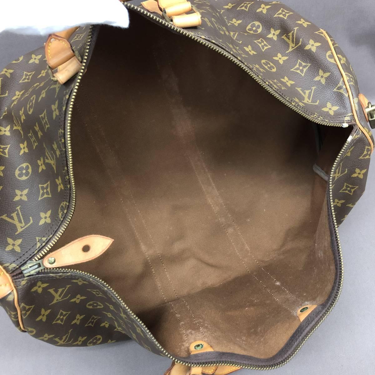[TI4] ルイヴィトン モノグラム キーポル 55 ボストンバッグ 旅行カバン ハンドバッグ M41424 LOUIS VUITTON_画像6