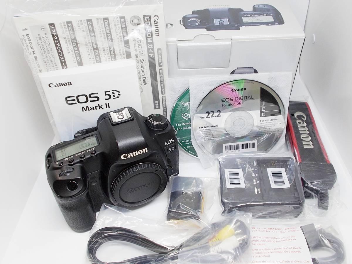 【送料無料】キャノン EOS 5D MarkⅡボディ 美品