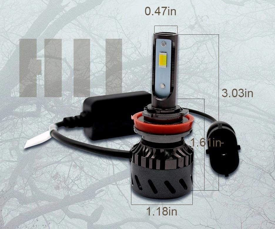 在庫限り 3色 カラーチェンジバルブ 6500k 3500k 4300k LED ヘッドライト LED フォグ H4 HI/LO H8 H9 H11 H16 HB3 HB4 30系 プリウス等_画像3