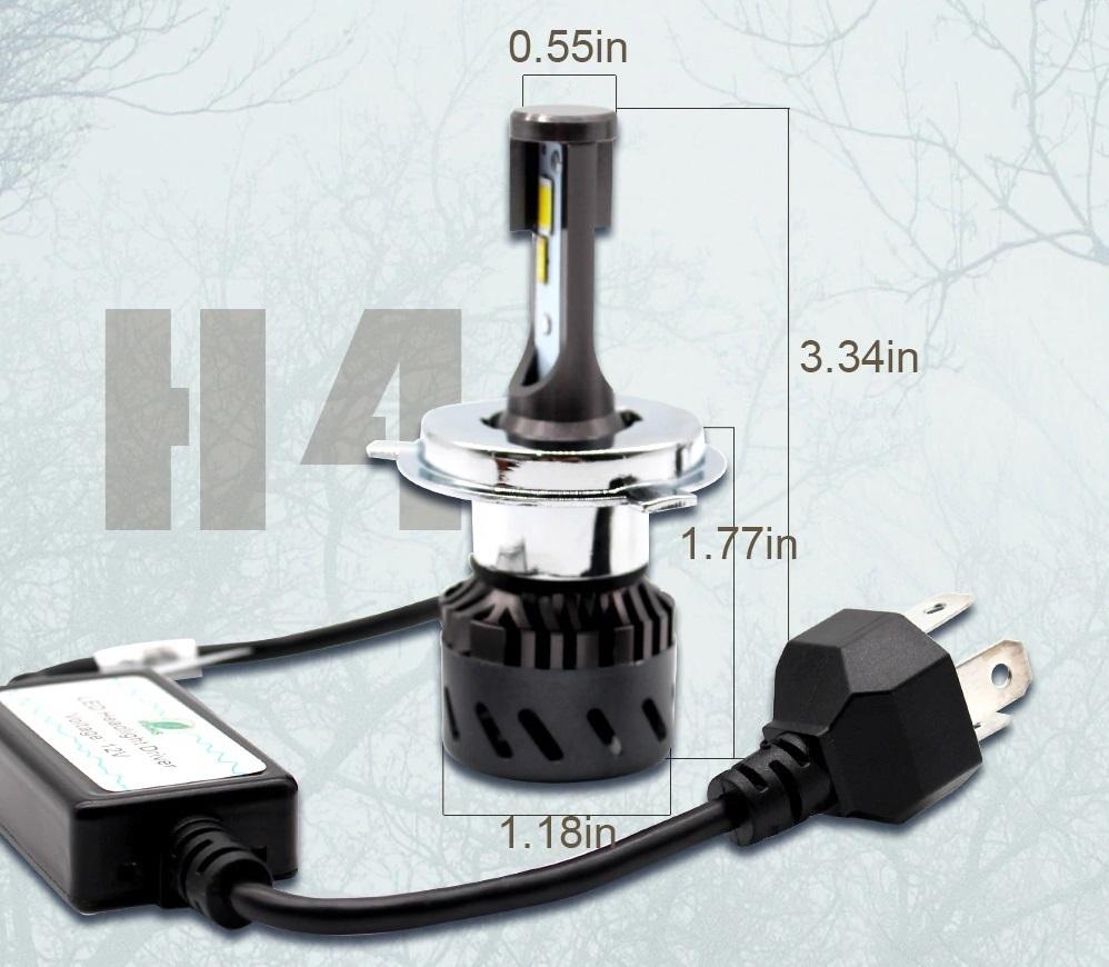 在庫限り 3色 カラーチェンジバルブ 6500k 3500k 4300k LED ヘッドライト LED フォグ H4 HI/LO H8 H9 H11 H16 HB3 HB4 30系 プリウス等_画像2