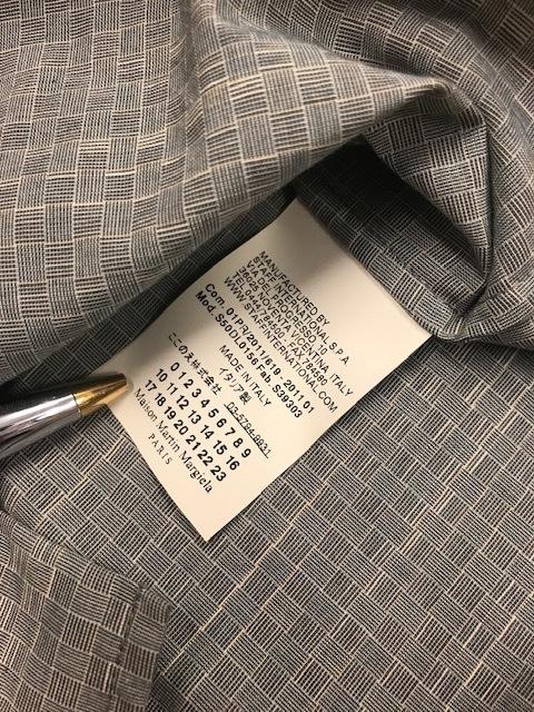 ロンハーマン購入 新品未使用 マルタン・マルジェラ 14 シャツ イタリア製 Maison Maltin Margiela 10 _画像6
