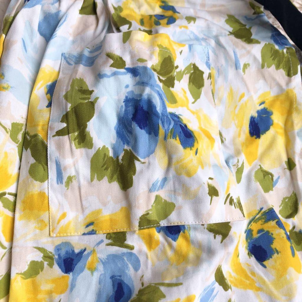 《未使用品》franc franc(フランフラン)花柄エプロン_画像4