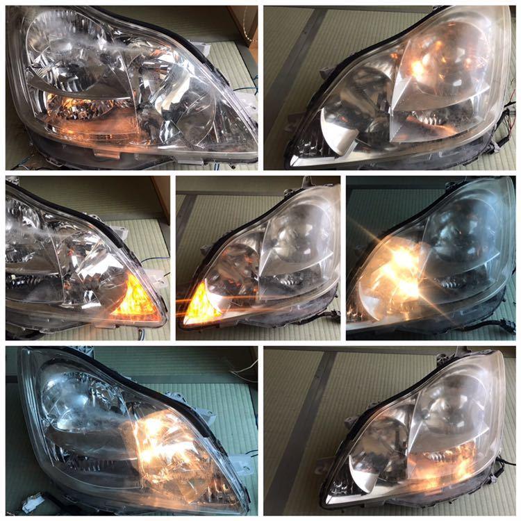 トヨタ 18系 クラウン 純正 ヘッドライト 左右セット_画像2