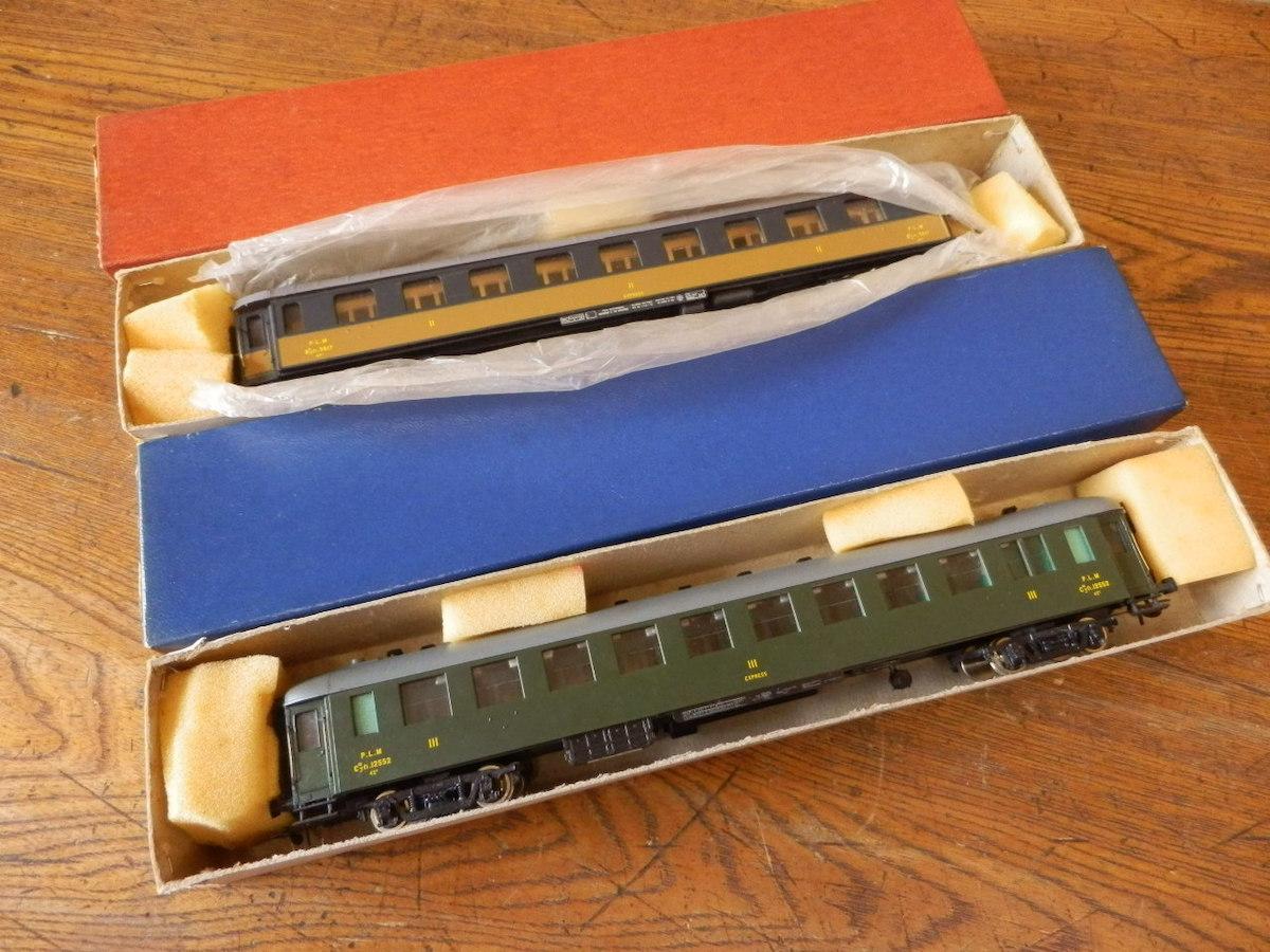 France Trains フランストレイン / HOゲージ 239 240 P.L.M 客車系 まとめて2輌set 中古現状品_画像7