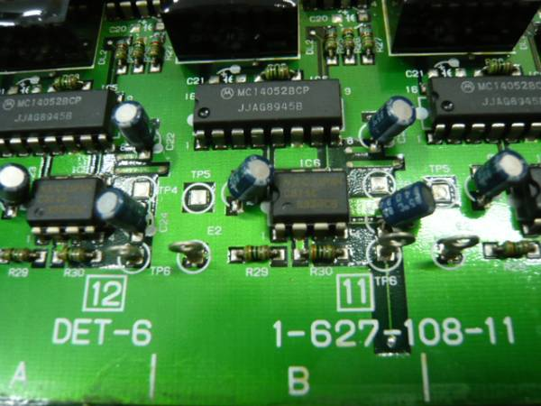 ★ SONY PCM 3348用基板 DET-6 (DET4) ★_画像3