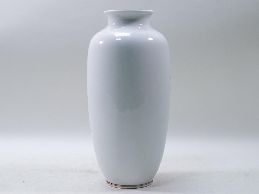 有田焼 彌右衛門 弥右衛門 花瓶 26cm 花入 共箱 未使用_画像5