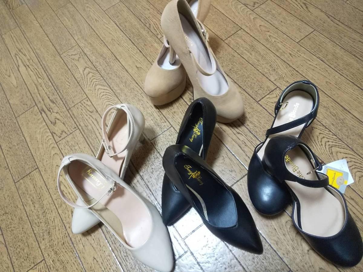 664813c25f9 代購代標第一品牌- 樂淘letao - H6-29 靴女性L ~ LL サイズヒールブーツ他その他ブランド25点まとめ売り業販卸大量洋服仕入れUSED