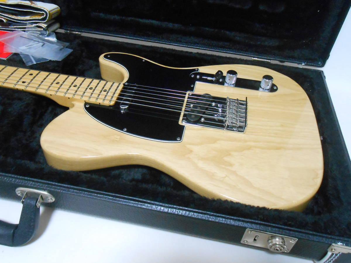 ★2014年製 Fender USA American Standard Telecaster Upgrade カスタムショップ製PU搭載 ASHボディ! ハードケース付き 即決特価_画像2