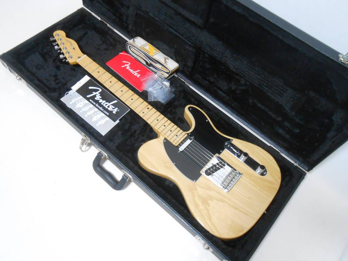 ★2014年製 Fender USA American Standard Telecaster Upgrade カスタムショップ製PU搭載 ASHボディ! ハードケース付き 即決特価