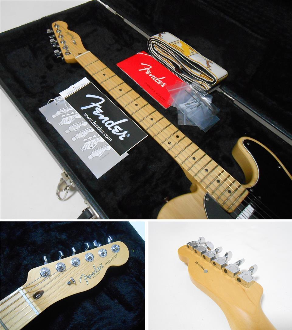 ★2014年製 Fender USA American Standard Telecaster Upgrade カスタムショップ製PU搭載 ASHボディ! ハードケース付き 即決特価_画像4