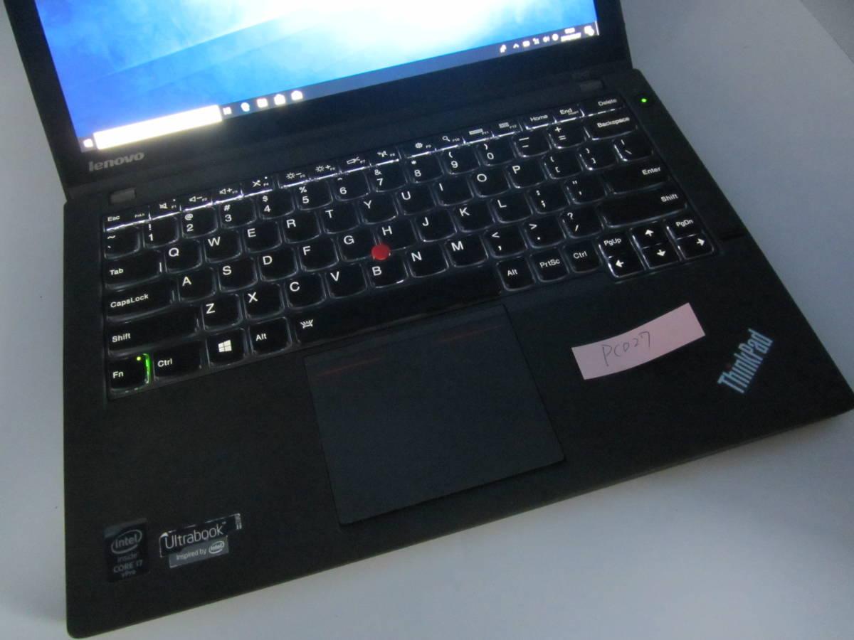 【新品SSD240GB/爆速/OFFICE2013搭載】レノボ X240/Win10/I7-4600U/IPSフルHD/タッチパネル/バックライトKB/メモリ8GB/Lenovo Thinkpad②_画像4
