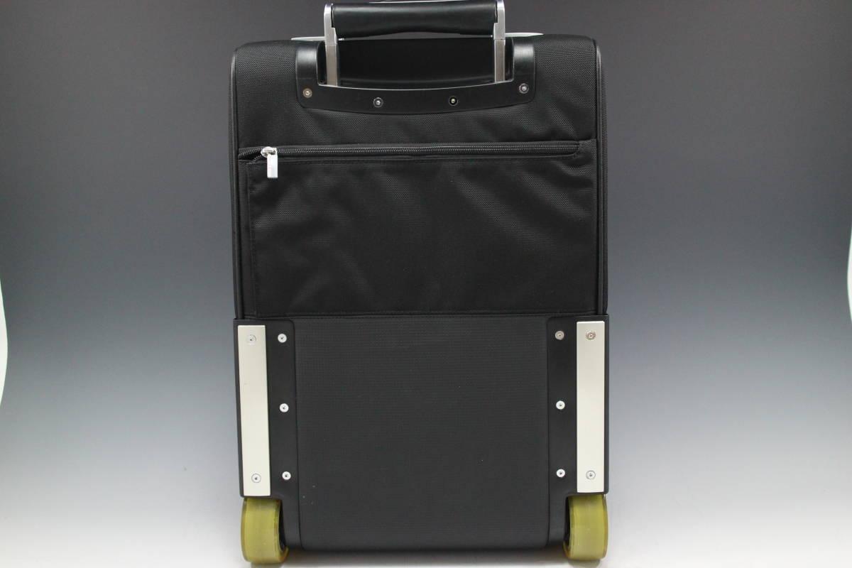 1円~極美【ポルシェ デザイン本物】キャリーバッグ/スーツケース/ナイロン/ブラック【S399T_画像2