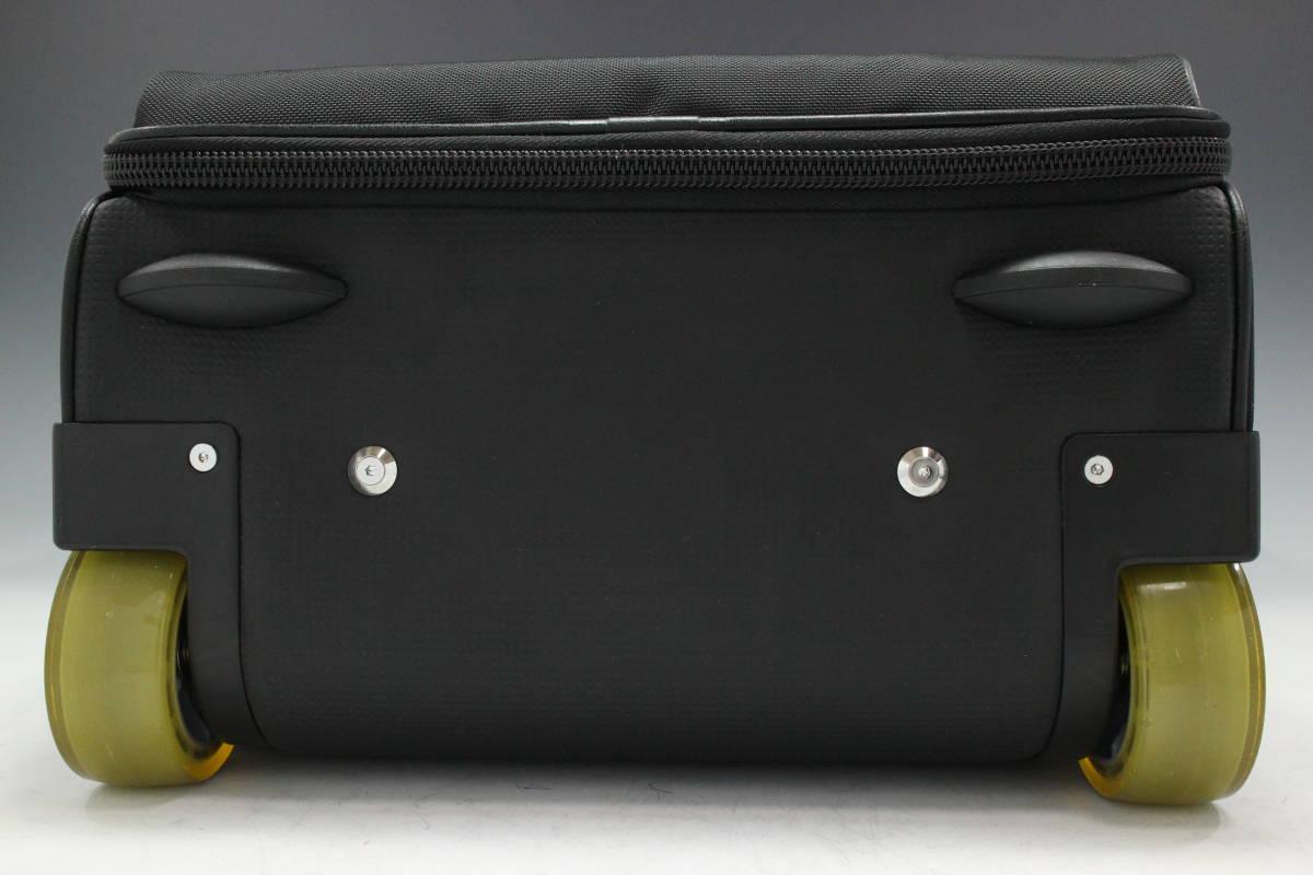 1円~極美【ポルシェ デザイン本物】キャリーバッグ/スーツケース/ナイロン/ブラック【S399T_画像4