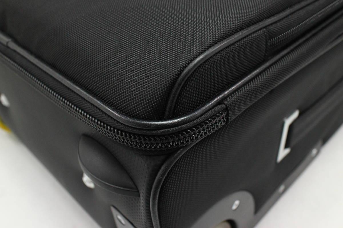 1円~極美【ポルシェ デザイン本物】キャリーバッグ/スーツケース/ナイロン/ブラック【S399T_画像5