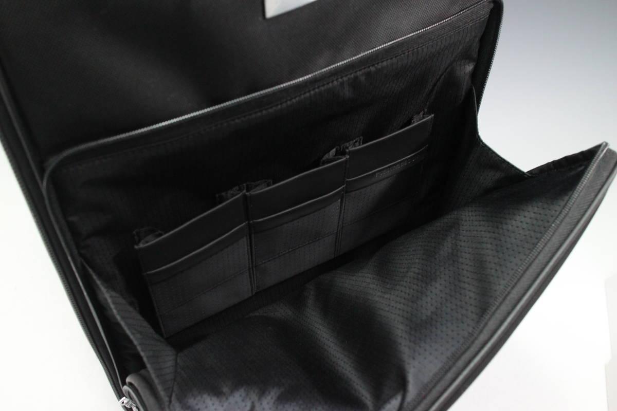 1円~極美【ポルシェ デザイン本物】キャリーバッグ/スーツケース/ナイロン/ブラック【S399T_画像7
