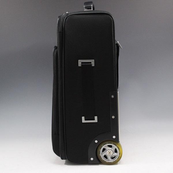 1円~極美【ポルシェ デザイン本物】キャリーバッグ/スーツケース/ナイロン/ブラック【S399T_画像3
